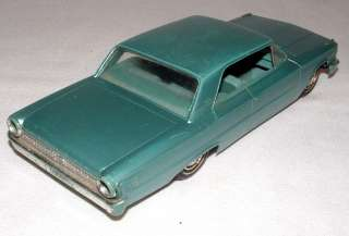 1963 AMT FORD 2 DOOR HARD TOP GALAXIE 8 PROMO CAR LIGHT BLUE