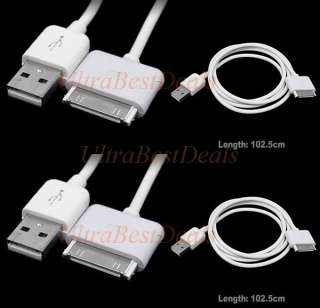 Pack New Original OEM Apple iPod iPhone 3GS 4 4S USB Charging Data