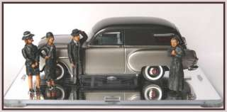 BM Toys E01 1/43 Funeral Set Handmade White Metal Figurines