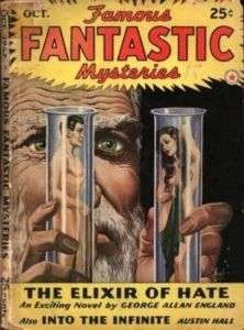 FAMOUS FANTASTIC MYSTERIES +OTHER WORLDS 70+ DVD PULPS
