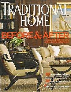 Traditional Home Magazine September 2008 Before & After