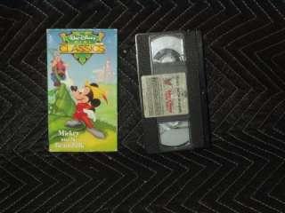 Walt Disney Mini Classics   Mickey and the Beanstalk (VHS, 1991