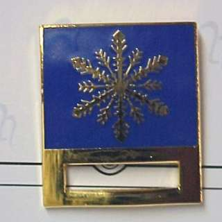 Snowflake ID Badge Holder Pin Tac Nurse RN LPN EMT CNA