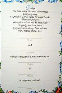 Our Wedding Religious Christian Registry Gift Book