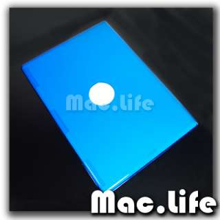 BLUE Crystal Hard Case Cover for OLD Macbook White 13