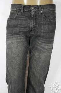 LEVIS JEANS 505 Straight Fit House Cat Smokey Black Denim Mens Pants
