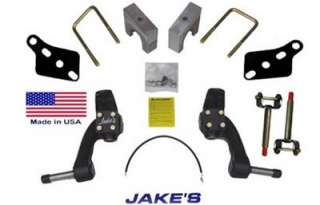 CLUB CAR PRECEDENT GOLF CART JAKES 6 LIFT KIT With NEW KING PINS