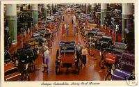 Henry Ford Museum Antique Cars Dearborn MI PC 50s