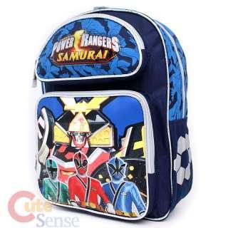 Mighty Morphin Power Rangers School Backpack Large Bag Samurai 2