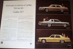 1976 Cadillac for 77 Fleetwood, Coupe/Sedan deville ad