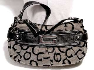 NEW Guess Black Large Hobo Tote Bag Purse Handbag