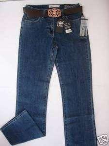 Damen Stretch Jeans Million X Women Mod.Linda m. Gürtel