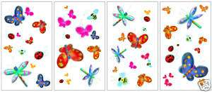 JELLY BUG BUTTERFLY Room Decor WALL STICKERS Decals Kid