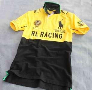 star New Mens 100% Cotton RACING TEAM 2163 Brazil shirt 3 size