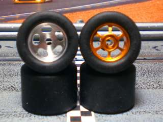 XPG URETHANE SLOT CAR TIRES 2pr fit H&R Ridged Wheels on CH03 Chassis