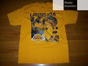 LAKERS KOBE BRYANT SLAMMA JAMMA SHORT SLEEVE JERSEY SHIRT XL LOS