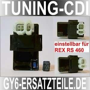 TUNING CDI * einstellbar* REX MOTO RS460 * 139QMB 4Takt