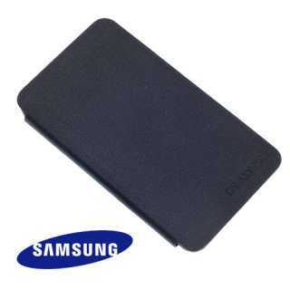GENUINE NAVY BLUE FLIP CASE COVER FOR SAMSUNG GT N7000 GALAXY NOTE