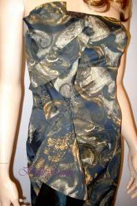 KAREN MILLEN Baroque Bandeau Dress BNWT Sizes 8 16