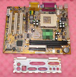MSI MS6178 REV1.1 Socket 370 Motherboard With I/O Plate en vente sur