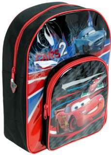 The Disney Cars 2 Backpack is ideal for school use or just carrying