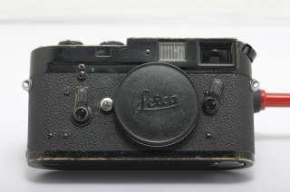 Leica M4 Original Black Paint Rangefinder Camera