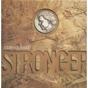 STRONGER LP (VINYL) UK EMI 1989: CLIFF RICHARD: Music