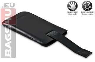 HTC EVO 3D Bouletta DUZZ ECHT LEDER Tasche Etui Case Hülle