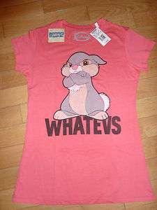 thumper lapin Panpan de Bambi Disney Tshirt femme taille L neuf
