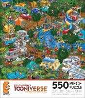 TOONIVERSE JIGSAW PUZZLE GETTING AWAY FROM IT ALL