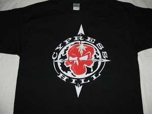 Cypress Hill t shirt M L XL XXL stussy west hip hop lrg