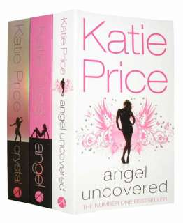 Katie Price 3 Books Set Crystal Angel Uncovered Jordan