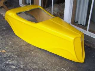 Mini Hot Rod / Go Kart Fibreglass Body Shell!