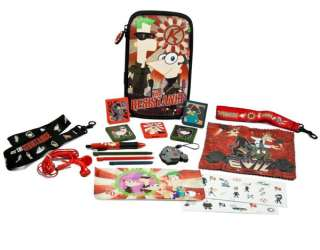 Official Disney Phineas & Ferb 2nd Dimension 16 in 1 Accessory Kit 3DS