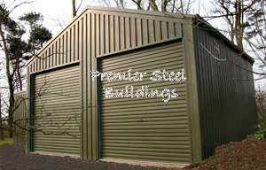 Premier,Steel,Buildings,Agricultural,Open, Farm,Shed