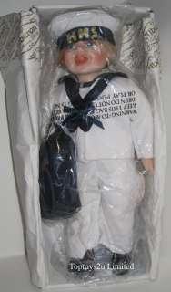 Alberon Signature Collection Porcelain HMS Sailor Doll