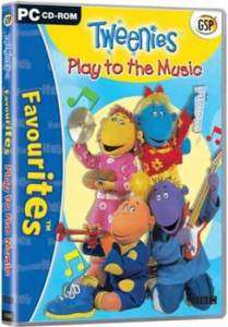 TWEENIES   Play to the Music   PC CD ROM   Brand New