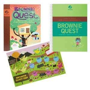 Guide   Brownie Quest Journey Book Set Girl Scouts of America Books
