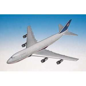 United Airlines B747 200 1/200 Scale Aircraft Replica Toys & Games