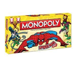 Monopoly: Spider Man Collectors Edition: Toys & Games