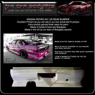 NISSAN CEFIRO A31 bodykit body kit REAR BUMPER UR