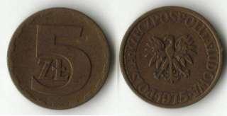 ZT 1975 Zlote Polonia Poland Moneta Coin