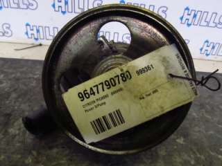 2005 CITROEN PICASSO 1.6L Diesel Power Steering Pump