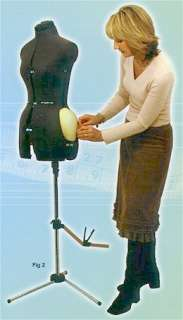 Dress Form Mannequin Dressmakers Dummy Size 10 16 Model