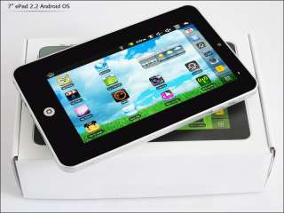 TABLET PC 7 UG 8650 VIA PAD ANDROID 2.2 FROYO WIFI USB