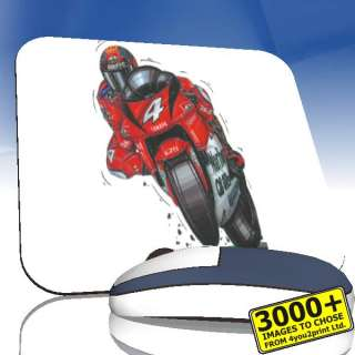 KOOLART Yamaha Max Biaggi 500 GP Personalised Mousemat.