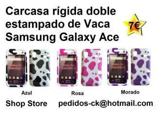 Carcasa doble de calaveras para Samsung Galaxy Ace (11161114)