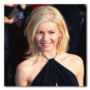 Elisha Cuthbert Color Box Canvas Print   Gallery Wrapped