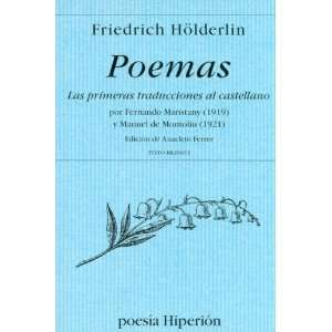 (Spanish Edition) (9788475177984): Friedrich Holderlin: Books