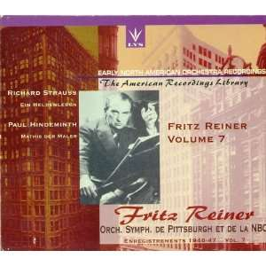 Early North American Recordings   Fritz Reiner Volume 7
